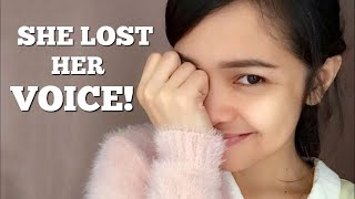 My wife lost her voice!