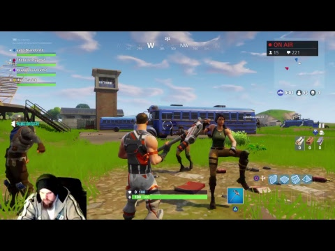 Thundernick plays FORTNITE battle royale ( with the Thunderous )