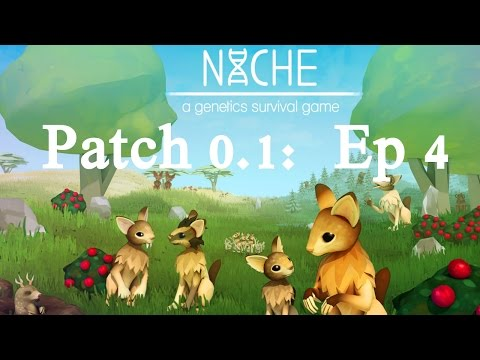 Niche A Genetics Survival Game | Patch 0.1 | The Hardest Island | Food Scarcity
