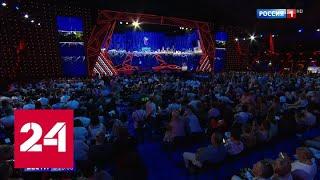 Новая волна парад российских звезд на фоне невероятных декораций   Россия 24