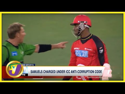 Jamaican Samuels Charged Under ICC Anti-corruption Code - Sept 22 2021