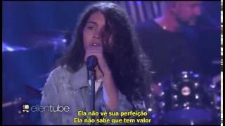 Scars to Your Beautiful - Alessia Cara live on Ellen
