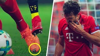 Why does Mats Hummels have holes in his shoes? - Oh My Goal