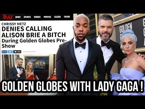 I Went To Golden Globes, Met LADY GAGA, & My Boyfriend Went VIRAL! Mp3