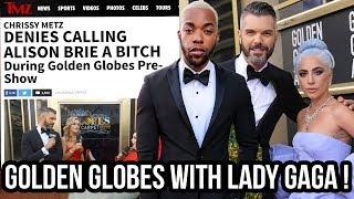 I Went To Golden Globes, Met LADY GAGA, & My Boyfriend Went VIRAL!