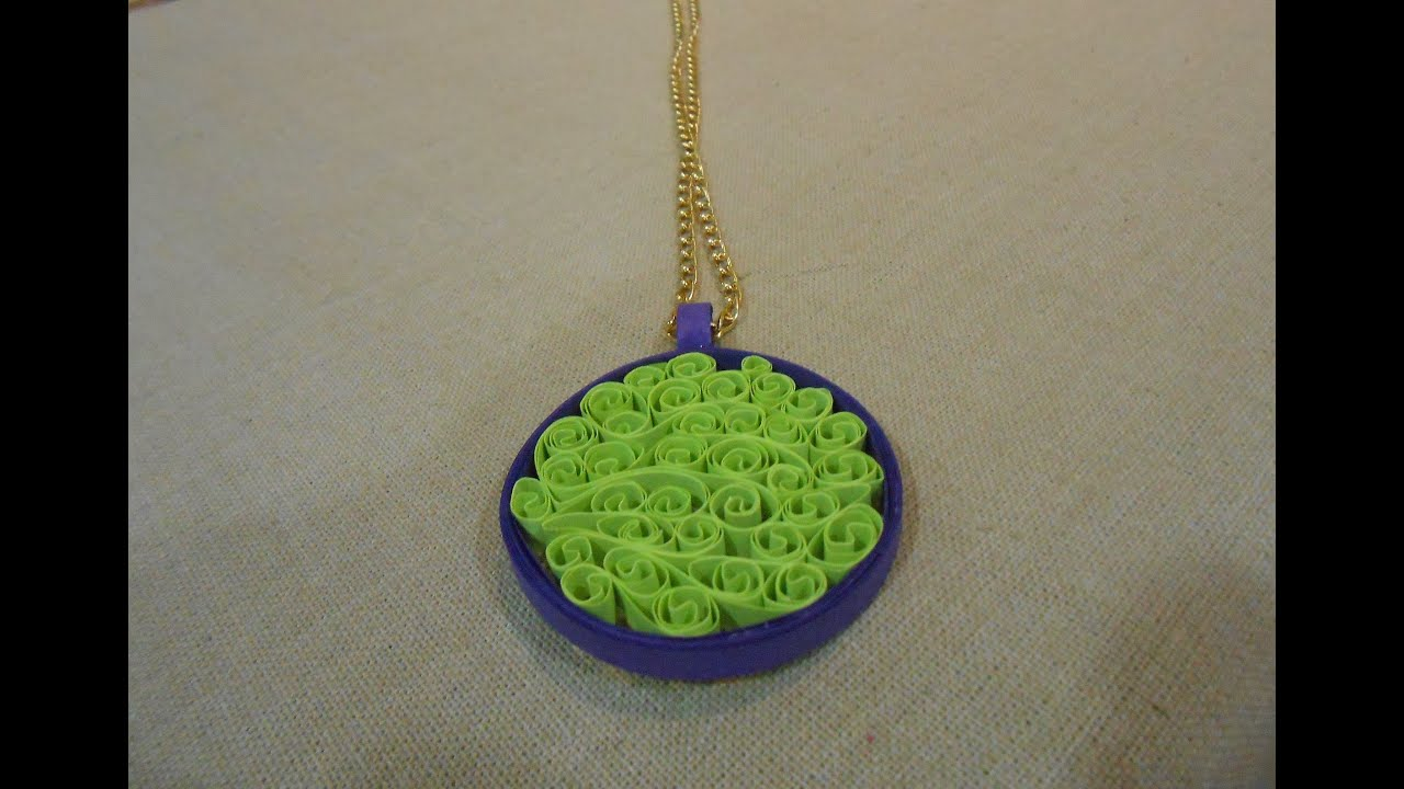 How to make beehive quilling pendant making tutorial youtube how to make beehive quilling pendant making tutorial aloadofball Gallery
