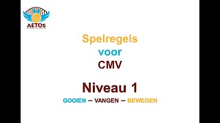 Aetos Spelregels CMV-volleybal niveau 1