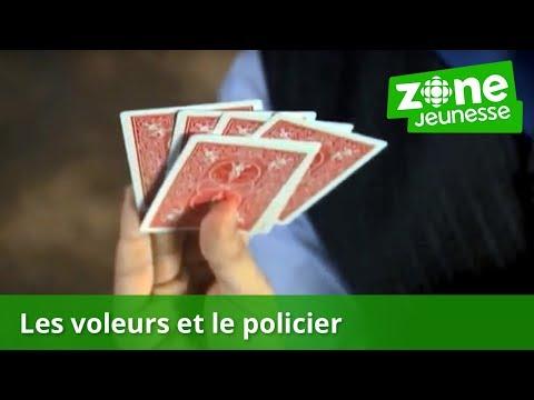 tour de magie carte cambriolage