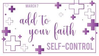 St Andrew's Community UMC Livestream Contempory Service 2021 Lenten Series Self Control Mar 7, 2021