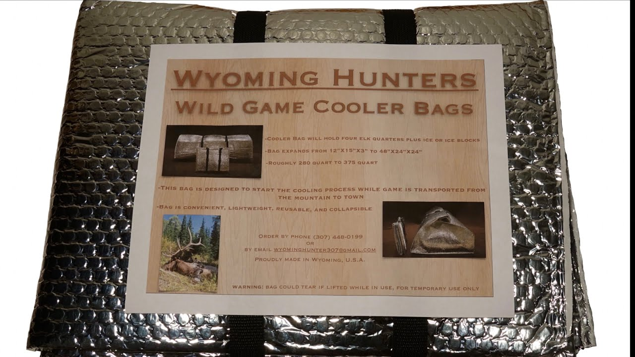 Game cooler bags - Wild Game Cooler Bag Demonstration