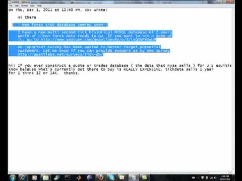 Reselling tick data for options equity futures from stock market exchanges  like NYSE LSE NASDAQ