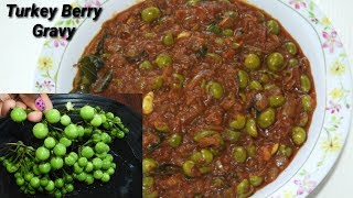 ಉಸ್ತೀ ಕಾಯಿ ಗೊಜ್ಜು ತಿಂದರೆ ಆರೋಗ್ಯಕ್ಕೆ ಒಳ್ಳೆಯದು | Turkey Berry Gravy in Kannada | Rekha Aduge