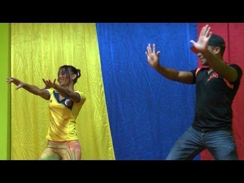 La salsa urbana que baila la selección colombiana - BBC Mundo