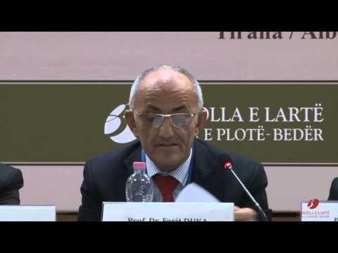 Prof.Dr. Ferit Duka, European University of Tirana