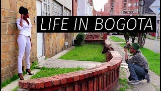 my life in bogot    colombia