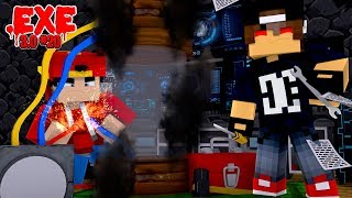 Minecraft .EXE 3.0 #20 - ROPO IS ABOUT TO DESTROY THE LAST .EXE 3.0 MACHINE!!
