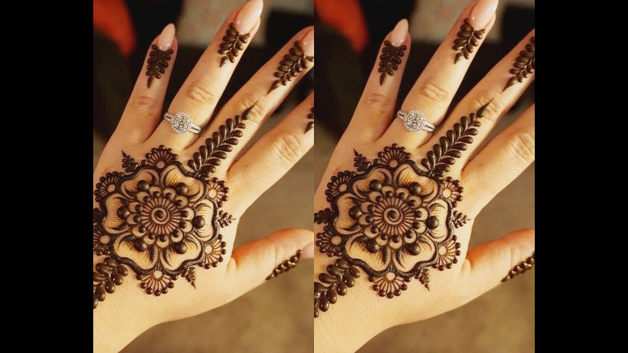 Is Henna Tattoo Haram: Henna Tattoos Mehndi Designs And Easy Eid Day 2018