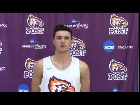 2017-18 Post Men's Basketball - Tyler Desrosiers