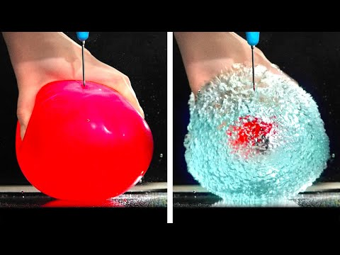 THIS 40 SCIENCE EXPERIMENTS WILL BLOW YOUR MINDS