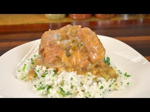 Crock Pot Recipe  Southern Smothered Chicken Recipe  Cooking With Carolyn
