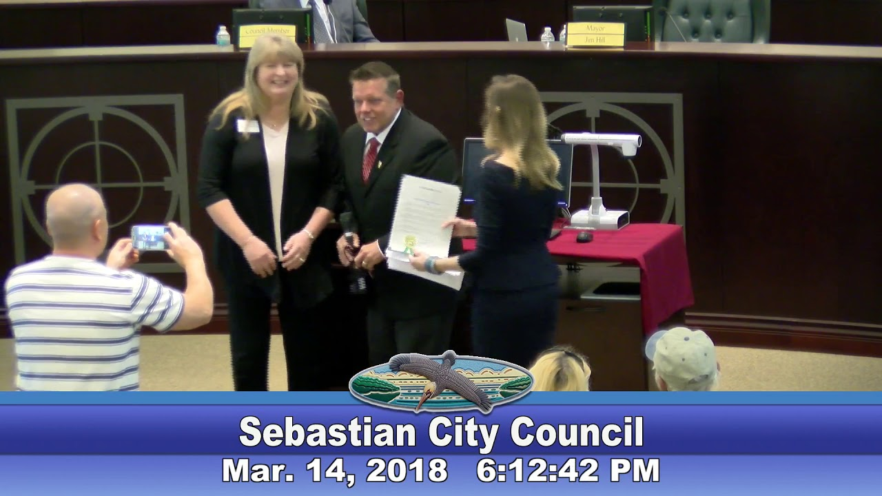 March 14th, 2018 - City Council Meeting