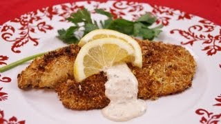 Herb Crusted Tilapia Recipe: Baked Tilapia: Healthy: Easy: How To: Diane Kometa-dishin' With Di  #76