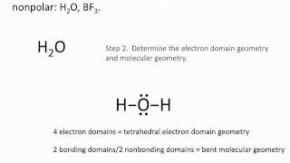 Molecule Polarity - Chemistry Tutorial