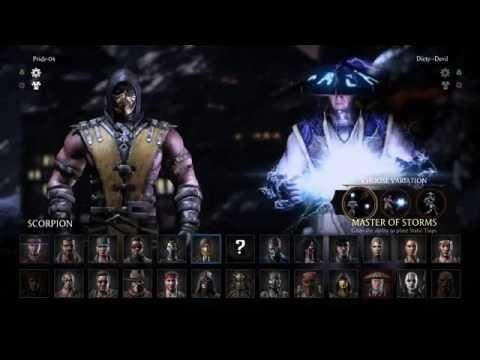 MORTAL KOMBAT X  Online Ranked Matches MKX