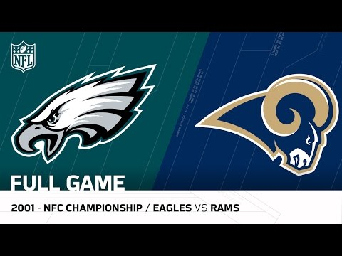 2001 NFC Championship Comeback | Eagles vs. Rams | NFL Full Game