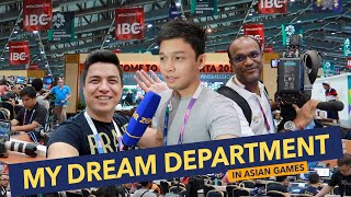Download lagu ASIAN GAMES MEDIA CENTER TOUR (feat. Margielyn Didal) | Day 17 (Part 2) Asian Games 2018 Vlog