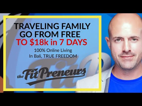 Online Personal Training & Nutrition Business $18,000 In 7 Days From Bali