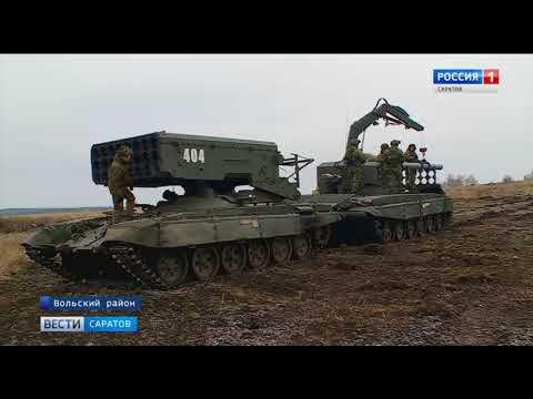 Бойцы войск РХБЗ отметили свой профессиональный праздник