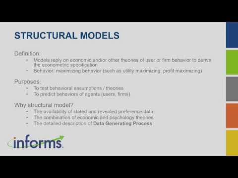 2019 TutORial: Structural Economic Models thumbnail
