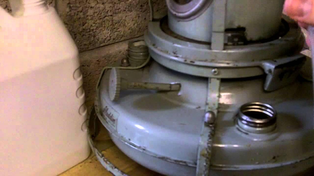 Aladdin Blue Flame 37 Kerosene Heater Cooker Installing