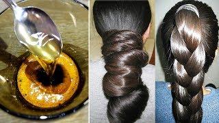 Как сделать волосы гуще? 🍀Натуральная маска своими руками