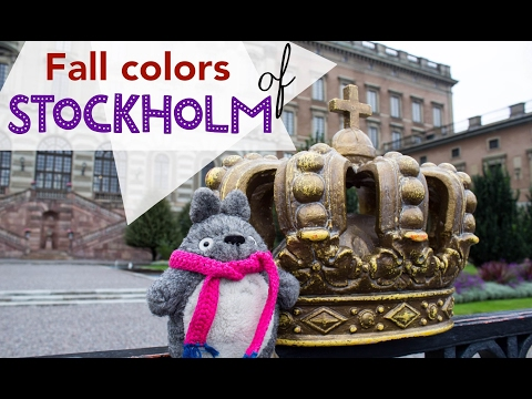 Totoro in Sweden | Stockholm's Fall Colors