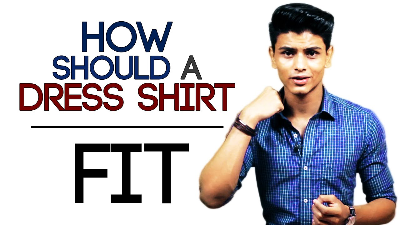 How should a formal dress shirt fit buying the perfect for How to find a dress shirt that fits