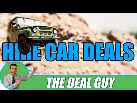 🚘 BEST CAR RENTAL Savings For 2016 ◄ Don't Get Caught Out Again!