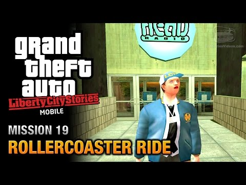 GTA Liberty City Stories Mobile - Mission #19 - Rollercoaster Ride