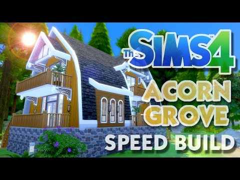 The Sims 4 -Speed Build- ACORN GROVE (A Luxury Vacation Home)