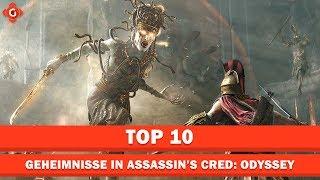 Zehn Geheimnisse within Assassin's Creed: Odyssey | Top 10