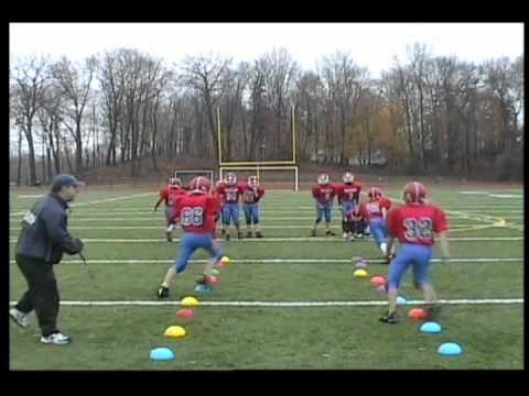 how to train a youth football team