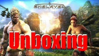 Enslaved: Odyssey to the west (UK-Import) - PS3 - Unboxing (german)