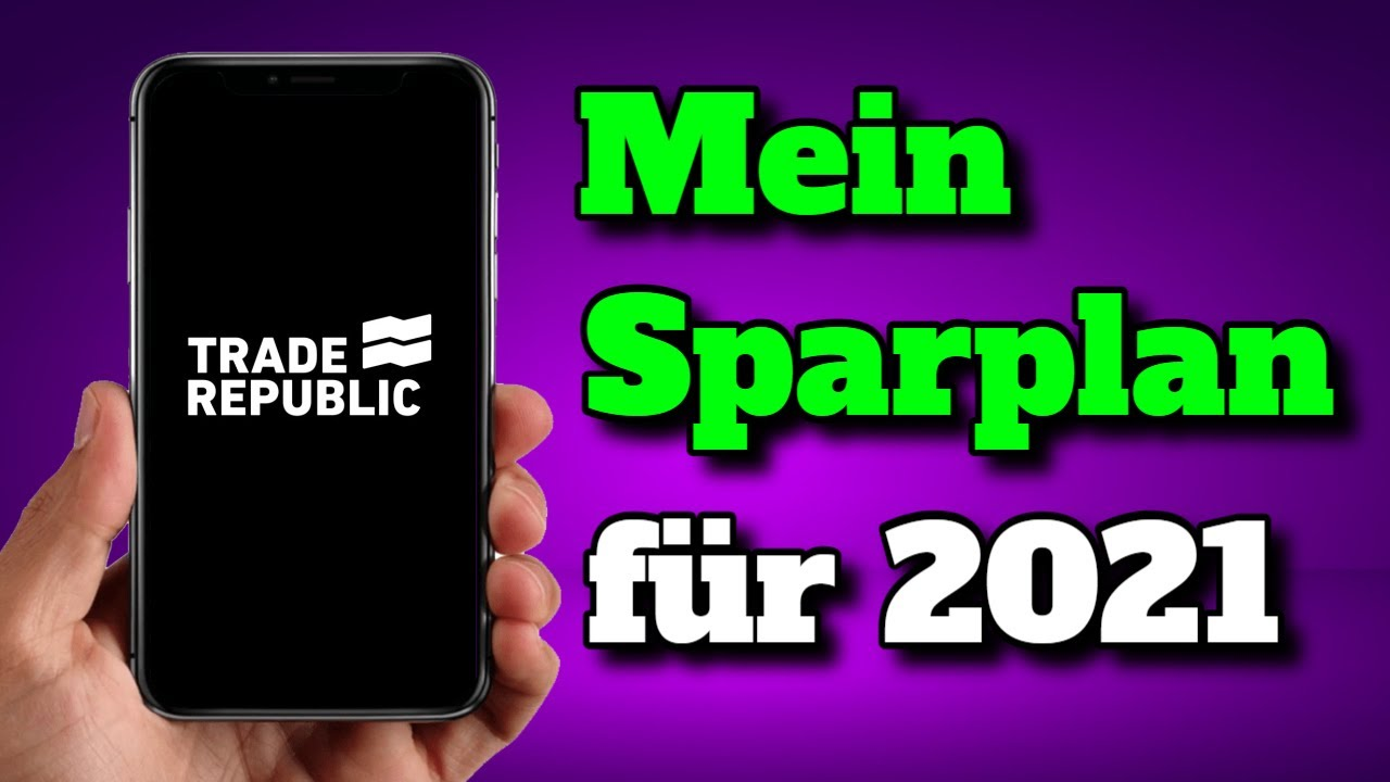 MEIN AKTIEN SPARPLAN FÜR 2021 📈💰 - YouTube