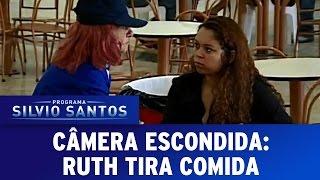 Câmera Escondida (19/06/16) - Ruth tira comida