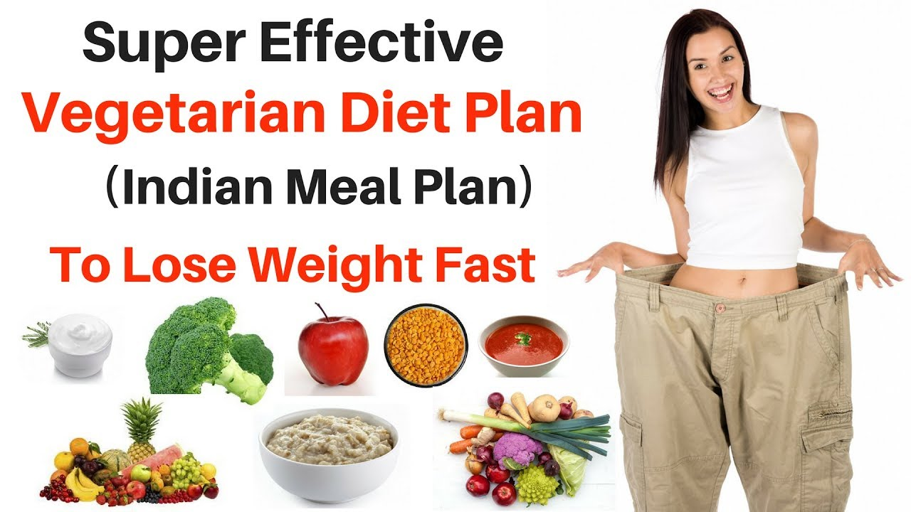 vegetarian diet for weight loss india