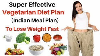 1200 Calorie Indian Diet Plan | Vegetarian Diet For Weight Loss (10 kgs in 10 days)