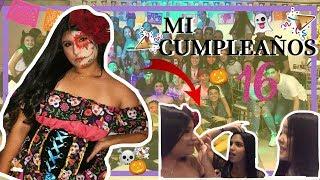 MI CUMPLEAÑOS 16!!! *locura total* Halloween party-sophiaconph