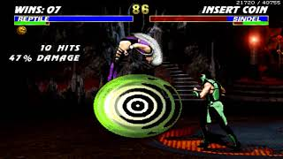 Ultimate Mortal Kombat 3 ~ Reptile【TAS】