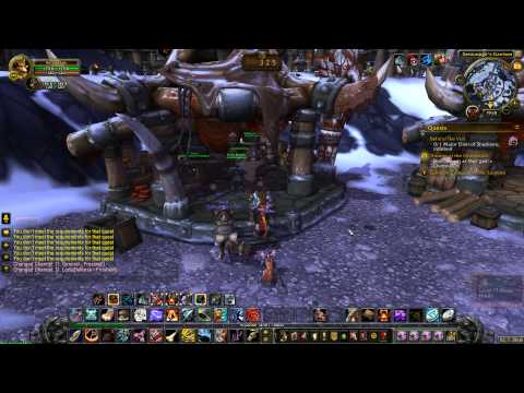 Alliance Goblin in my Garrison :D